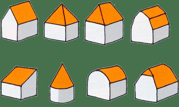 Tipologie tetti in legno scegliere il tetto con fratelli for Tipi di tetto